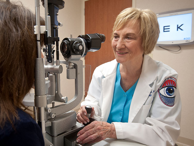 Name of admired ophthalmologist McCaa lives on with endowment