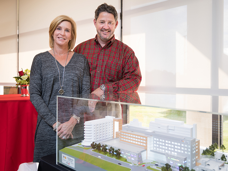 O'Donnell's $1M gift to benefit new PICU cardiac wing
