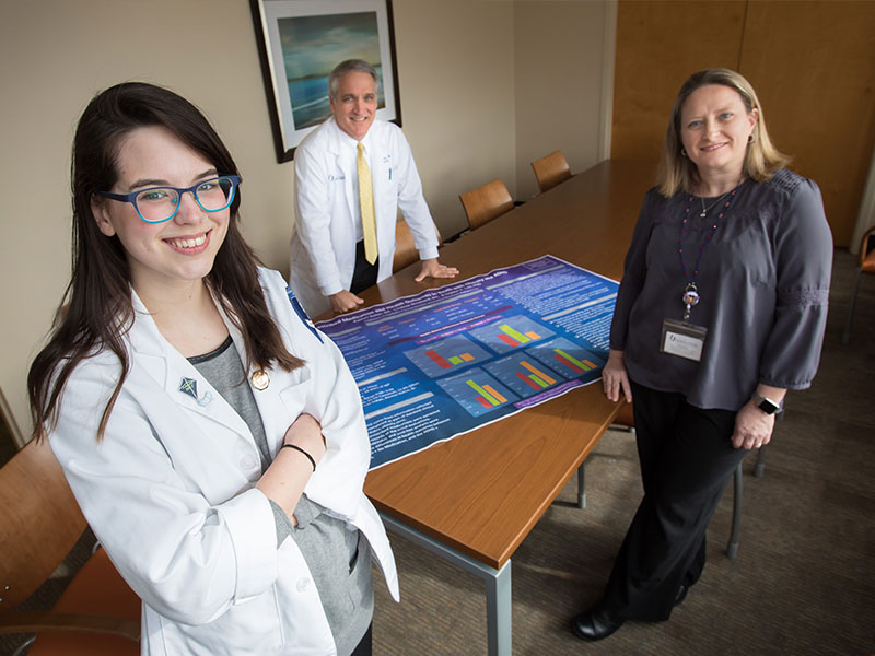Surprising Finding Distinguishes Med Students Research Project