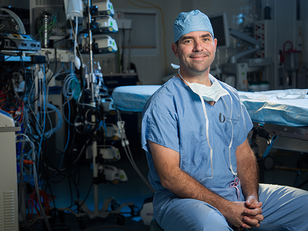 New heart surgery leader put gloves on right after Batson arrival