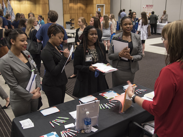Career fair ignites opportunities for nursing students