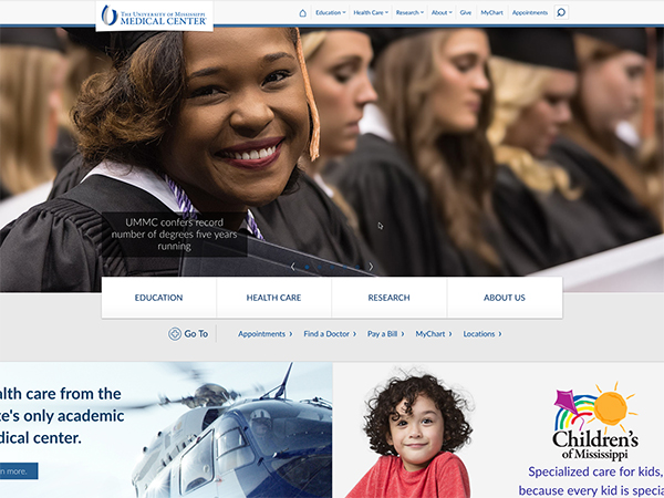 New redesign streamlines navigation, combines umc.edu, ummchealth.com