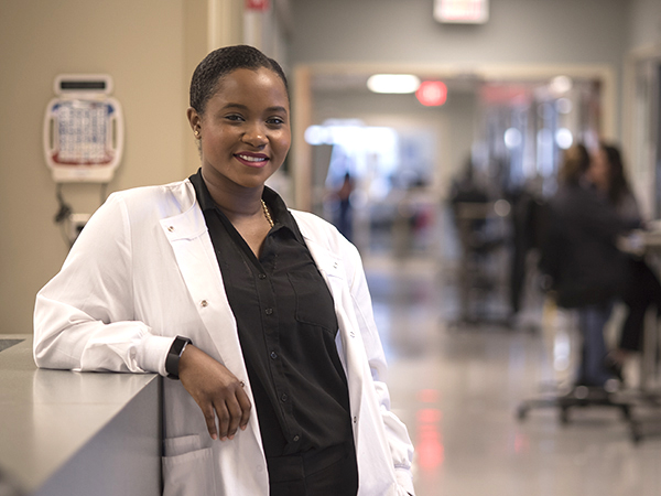 #UMMCGrad17: Lockhart's patients can expect compassionate care with a smile
