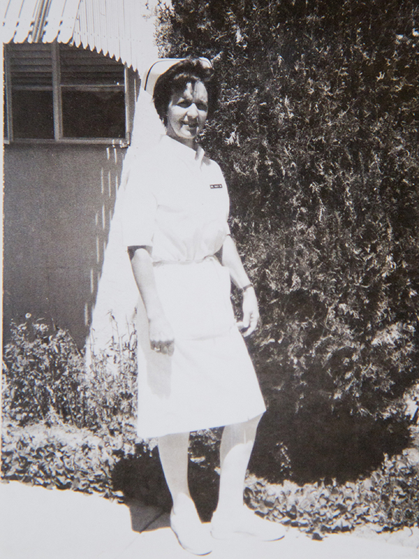 Cooley began practicing nursing in 1948.