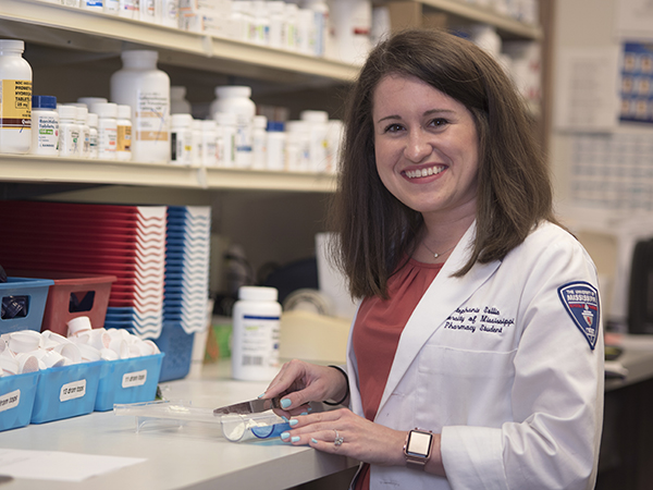 #UMMCGrad17: Sollis goes from cheerleader to leader in School of Pharmacy