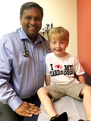 Dr. Avichal Aggarwal with Cayson