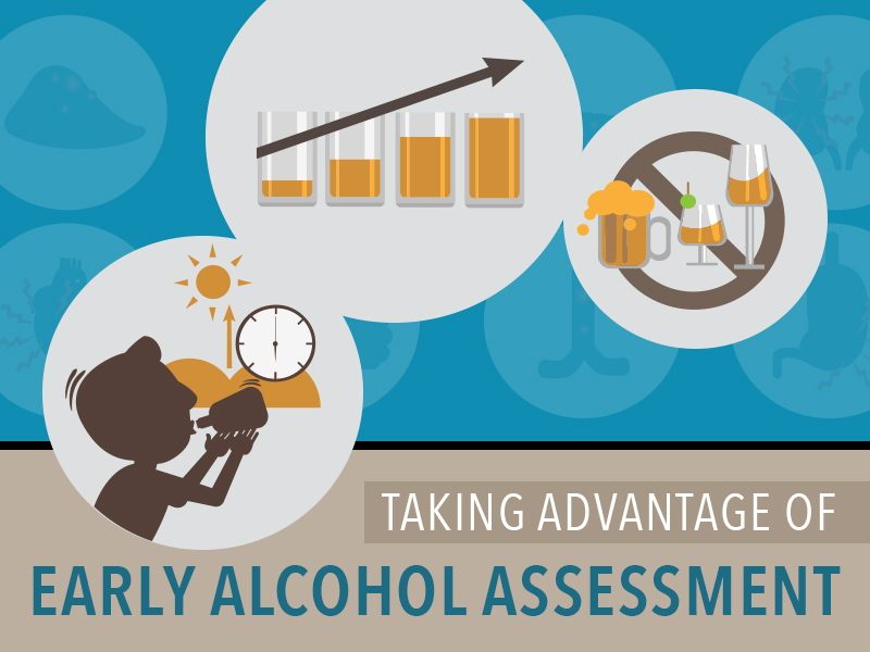 Alcohol assessment treatment averts severe drinking problems