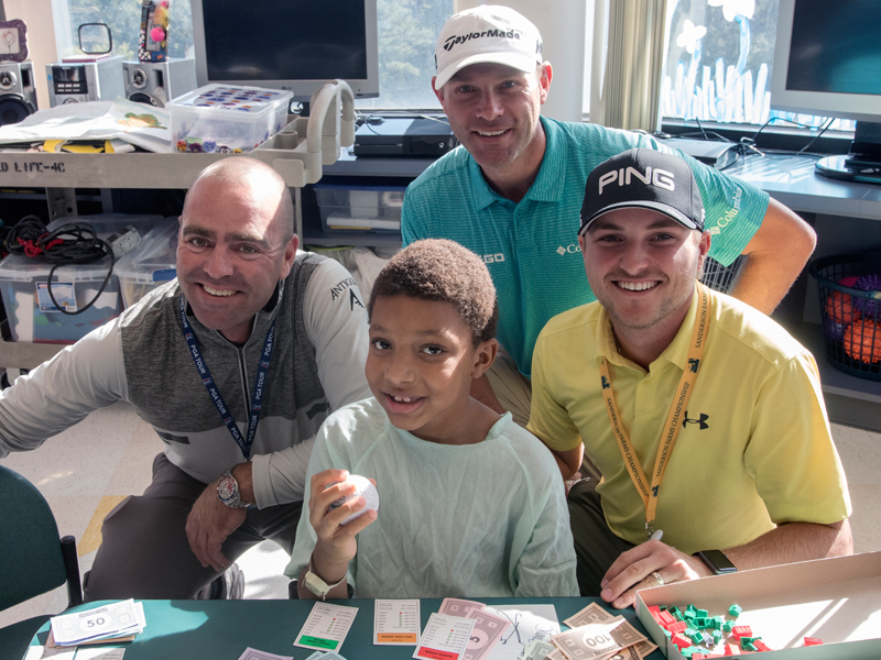 Photos: Sanderson Farms Championship celebrities swing by Batson