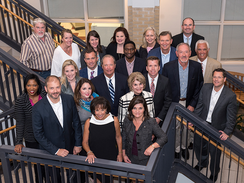 The Friends of Children's Hospital Board of Directors includes, front, from left, Scott Overby, Ray, Melanie Morgan; second row, Brenda Hayes Williams, Katie McRae, Thames; third row, Kristin Allen, Allen, John Scarbrough, Dr. Bob Abney, Rob Armour; fourth row, Josh Swain, Fidelis Malembeka, Joey Havens, Bill Hulsey; fifth row, David Spurk, Jill Dale, Natalie Hutto, Lindsay Hamm, Susan Shands Jones and Bruce Leach.
