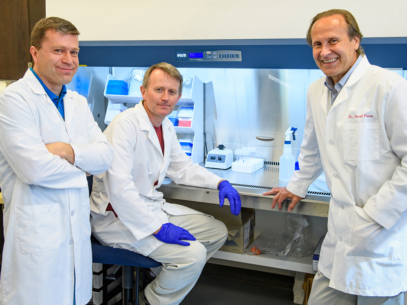 Cancer Institute researcher, lab receive international recognition