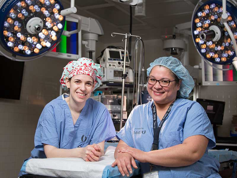 Newest transplant surgeons women with a mission