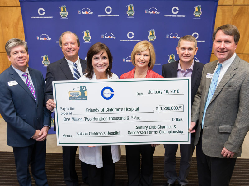 Video: Century Club Charities sets record with gift to Friends of Children's Hospital