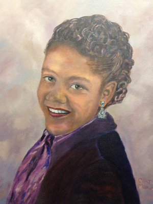 Eunice Northington, oil on canvas