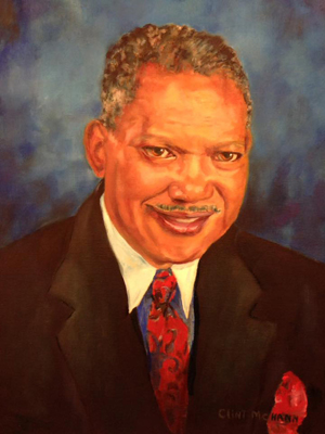 Hiawatha Northington, oil on canvas
