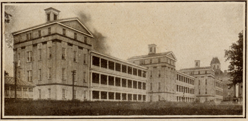 The Mississippi Hospital for the Insane opened in 1855 and operated until 1935, when it was replaced by Mississippi State Hospital at Whitfield.