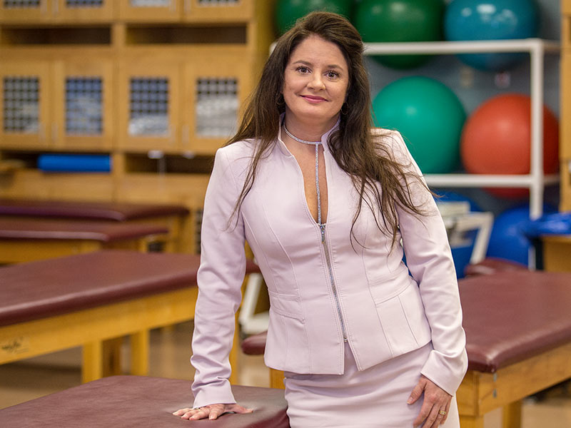 Board names Delta physical therapist SHRP Alumnus of the Year