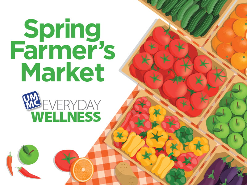 Have a 'berry' good time at UMMC's Farmer's Market