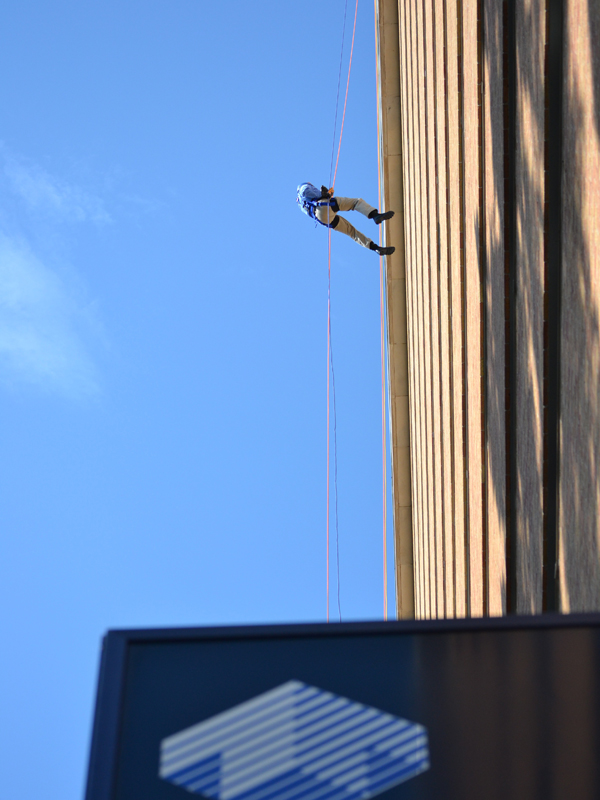 This year's Over The Edge fundraiser is the third for Friends of Children's Hospital.