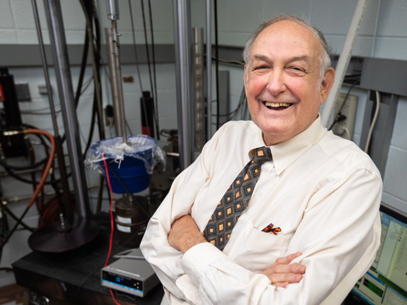 Professor emeritus establishes endowment to advance metals research