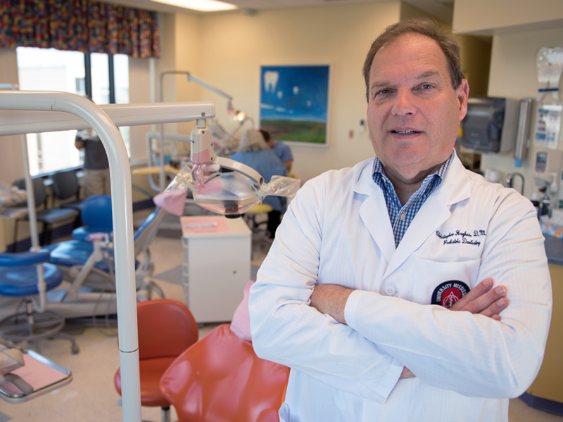 New chair of pediatric dentistry settles into southern hospitality