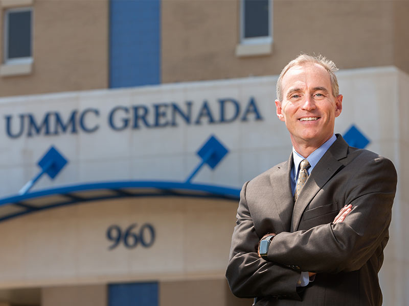 UMMC's new Grenada, Holmes Co. leader aims to enhance patient experience