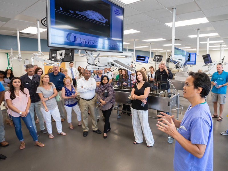 Photos: Medical school in a day - University of Mississippi Medical ...