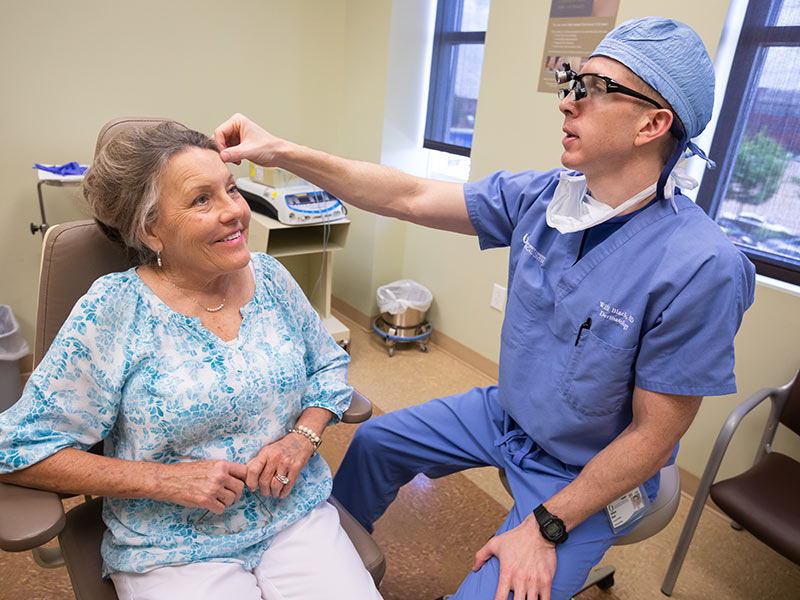 Mohs surgery leaves few signs of melanoma