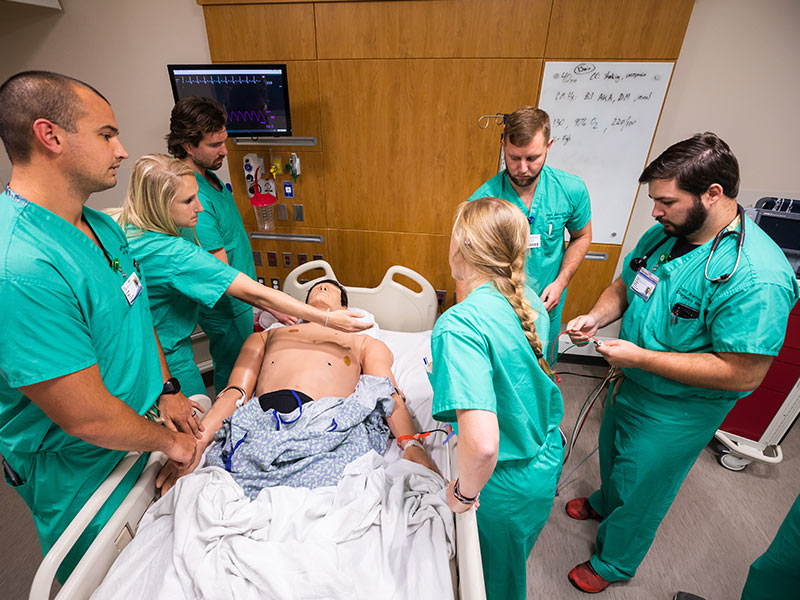 Sim Center drills residents, others, on values of communication