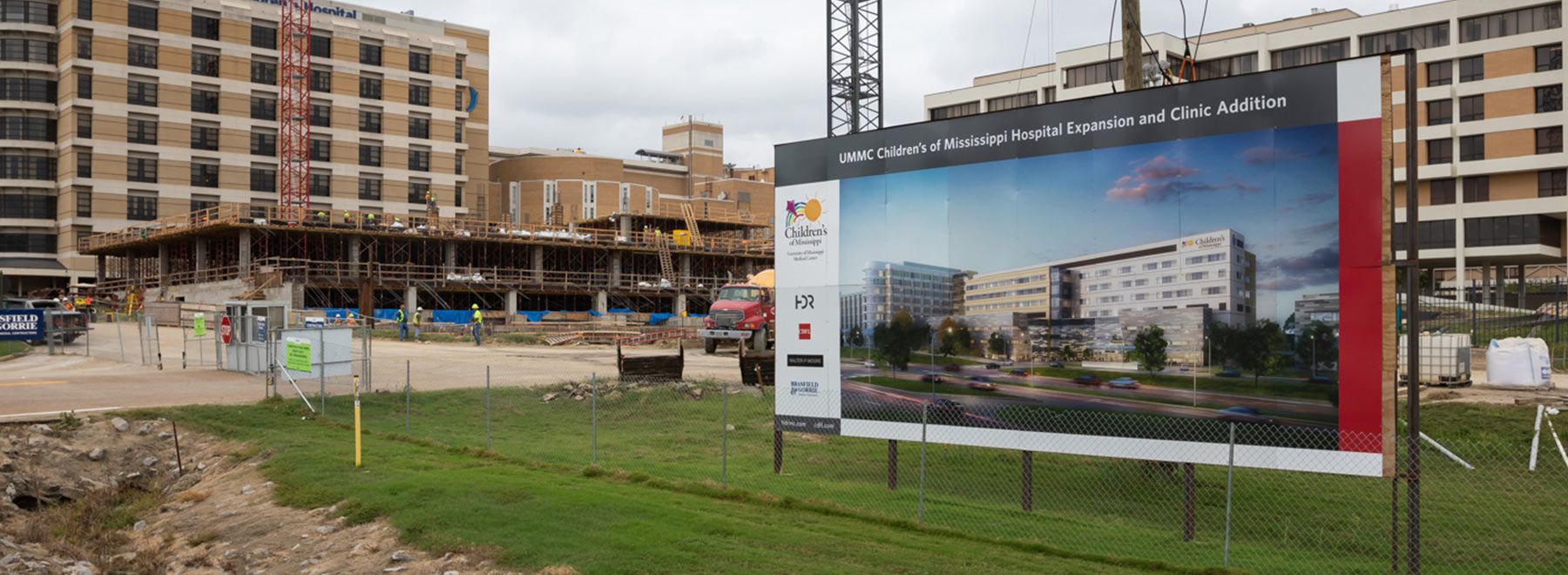 Children's of Mississippi is expanding with a new building to help every child in Mississippi