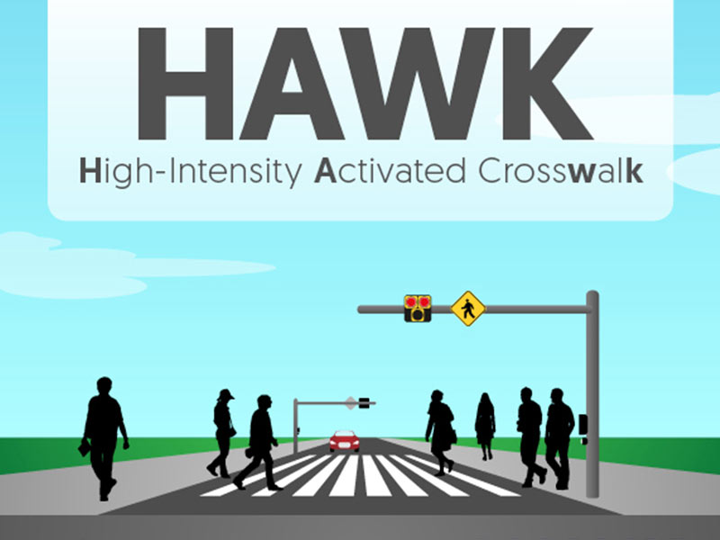 HAWK walk: Traffic signal helps pedestrians navigate State Street