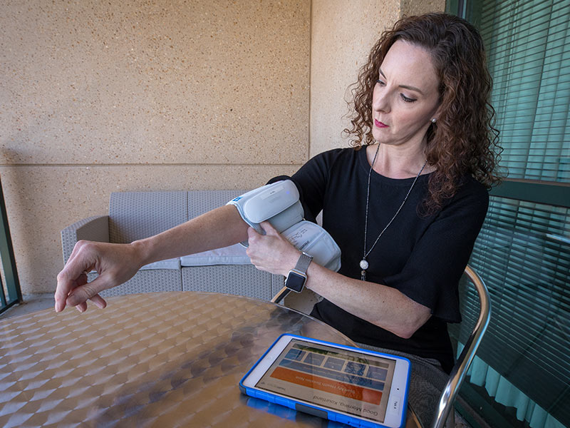 Clinical trial explores managing hypertension from home
