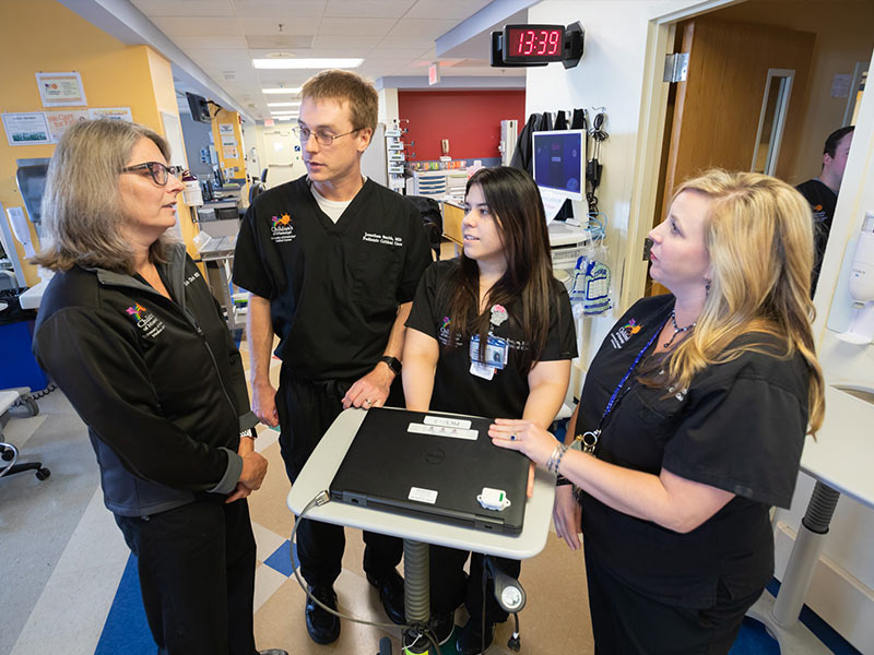 New specialists add to record PICU care team numbers