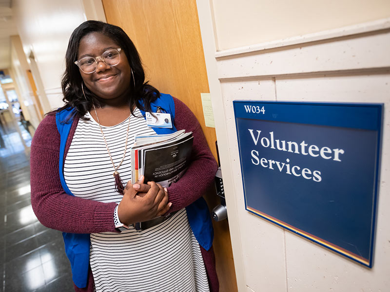 Volunteer Services selects future physician e56613b554