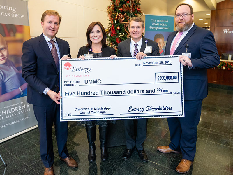 Entergy's $500K donation helps power Children's campaign