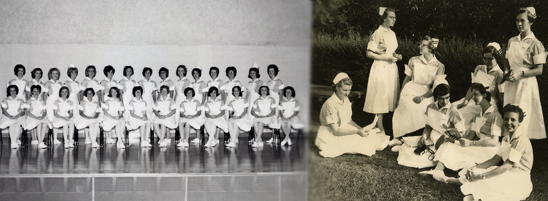 'The shoulders of those who came before us:' School of Nursing turns 70