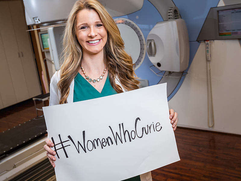 #WomenWhoCurie highlights female radiation oncologists