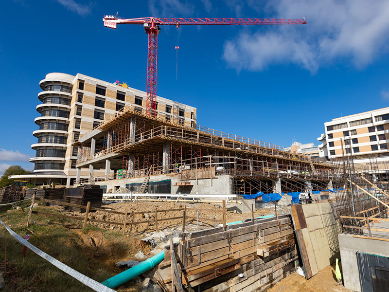 One year after groundbreaking, UMMC pediatric expansion structure