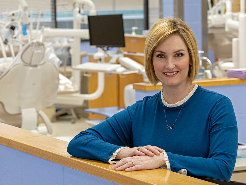 Dr. Elizabeth Carr has been named the new chair of dental hygiene in the University of Mississippi School of Dentistry.