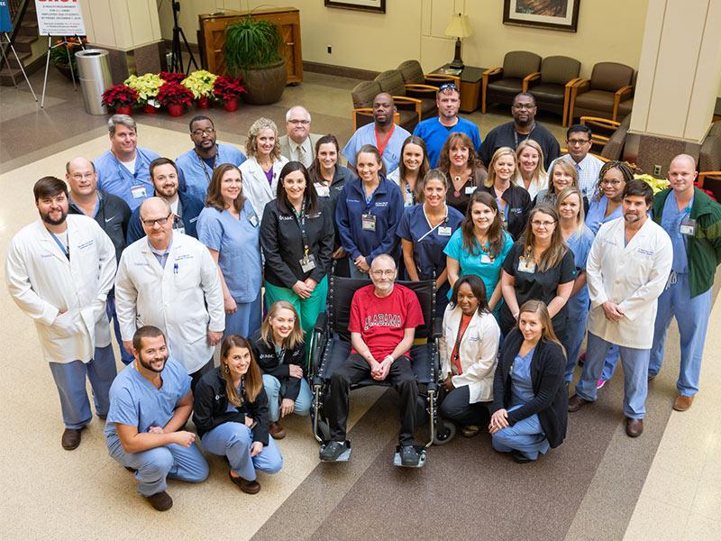 Heart-liver transplant one for UMMC history books