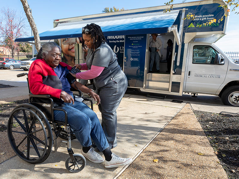 Mobile clinic provides much-needed, convenient care for young and old