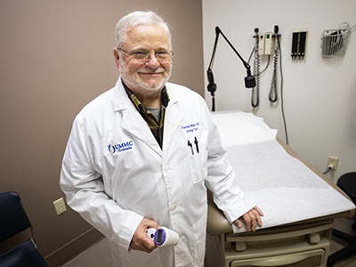 Dr. Thomas Weldon, UMMC Grenada urologist, has a growing practice in his specialty.