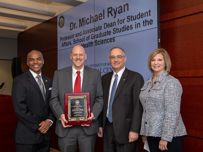 7555151e82 IHL names SGSHS student affairs head top diversity educator - University of  Mississippi Medical Center