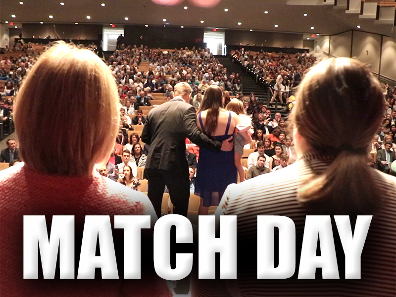 Video: Med students meet their Match on one of 'best days of