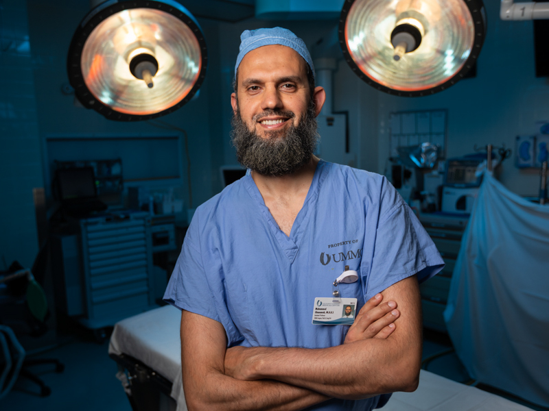 Dr. Mohammed Ghanamah joins the Children's Heart Center at Batson just as Children's of Mississippi's expansion is under construction.
