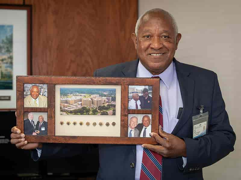 Retiring Facilities Executive Accentuates The Positive During 47 Year Career University Of Mississippi Medical Center