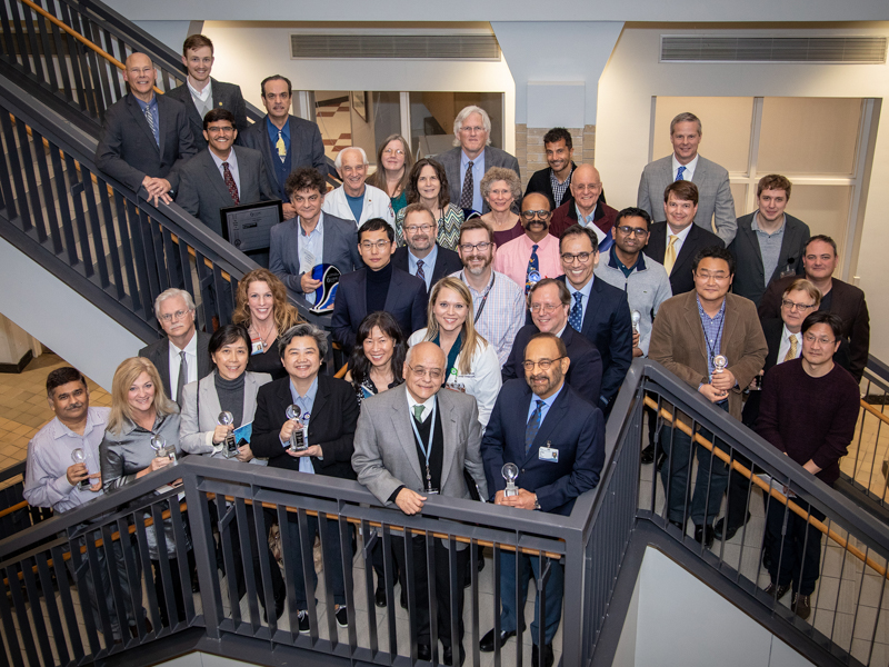 The Medical Center had 51 employee- and student-inventors between January 2018 and June 2019, far exceeding productivity from recent years. To recognize their accomplishments, UMMC hosted its first Intellectual Property Recognition Ceremony.