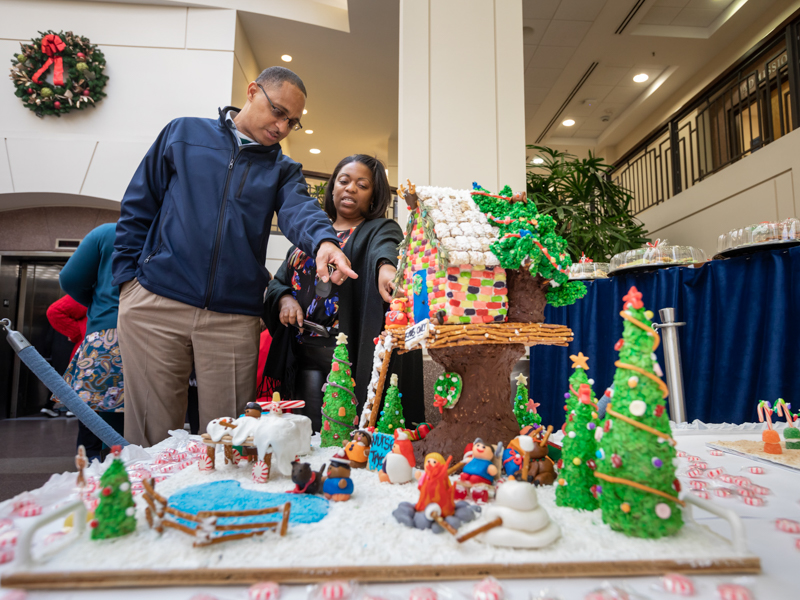 Photos: Holiday gingerbread houses help usher in Christmas season