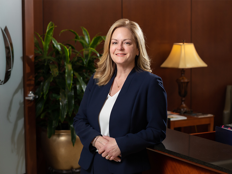 Portrait of Dodie McElmurray, CEO of UMMC Grenada and UMMC Holmes County.
