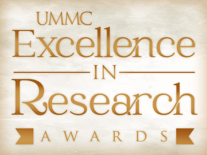 Graphic: UMMC Excellence in Research Awards