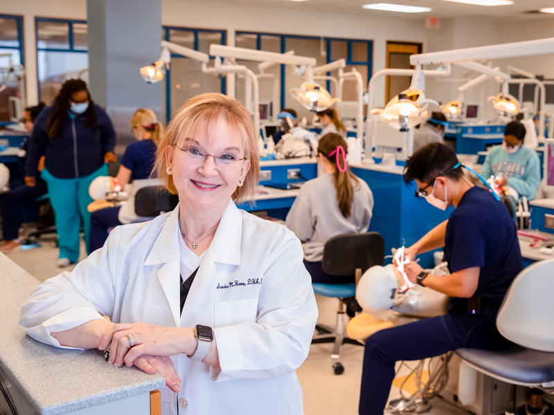Dr. Sandra Horne, professor of dental hygiene, is the American Dental Hygienists' Association Educator of the Year.